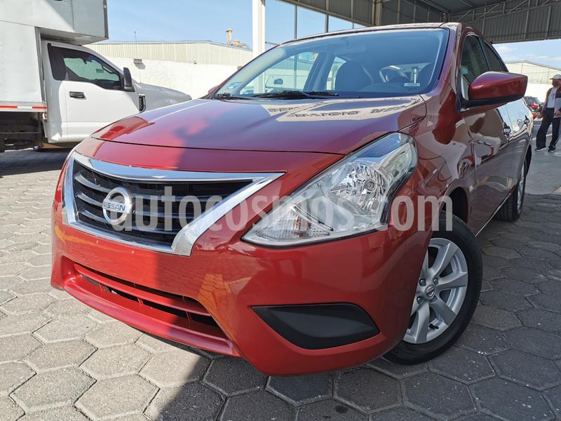 Foto Nissan Versa Advance usado (2019) color Rojo precio $195,000