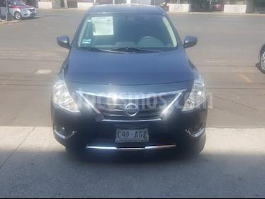 Nissan Versa Exclusive NAVI Aut usado (2016) color Azul precio $160,000