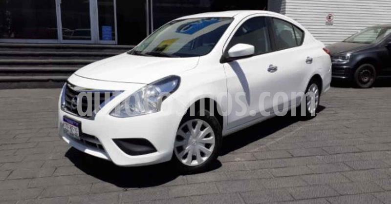 Nissan Versa Sense Aut usado (2018) color Blanco precio $139,000