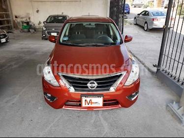 Nissan Versa Advance usado (2019) color Rojo precio $199,000
