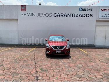 Nissan Versa Advance Aut usado (2019) color Rojo precio $224,900