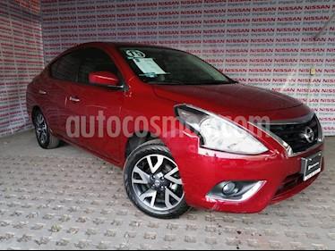 Nissan Versa Advance usado (2019) color Rojo precio $225,000