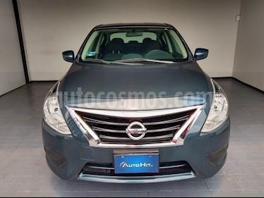 Nissan Versa Sense Aut usado (2015) color Azul precio $147,500