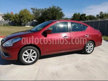 Nissan Versa Advance usado (2016) color Rojo precio $145,000