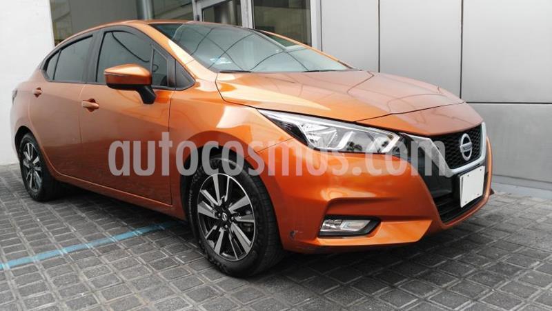 Nissan Versa 4P ADVANCE L4/1.6 MAN usado (2020) color Naranja precio $240,000