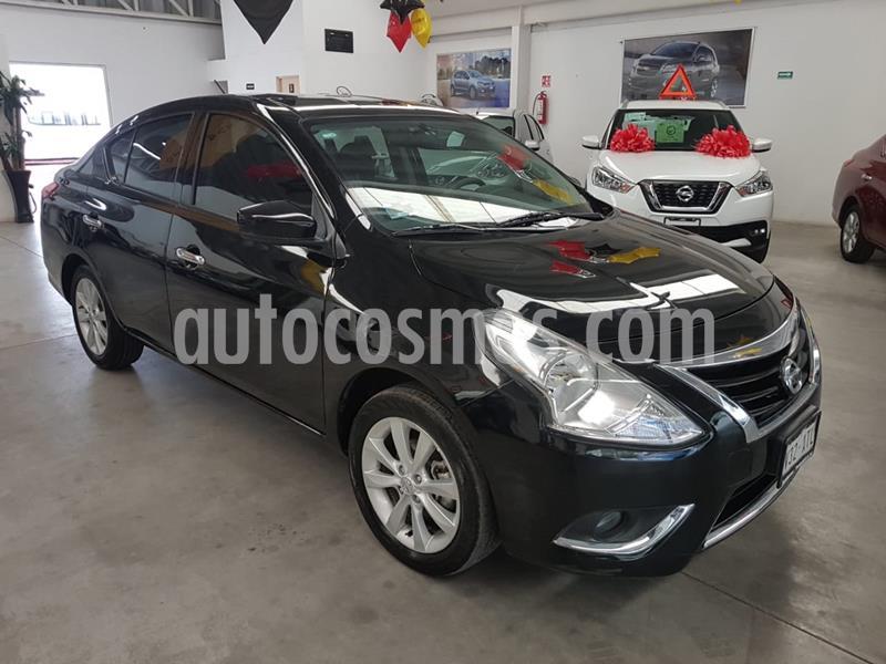 Nissan Versa Advance usado (2018) color Negro precio $179,000