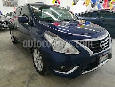 Nissan Versa Advance usado (2018) color Azul precio $189,000