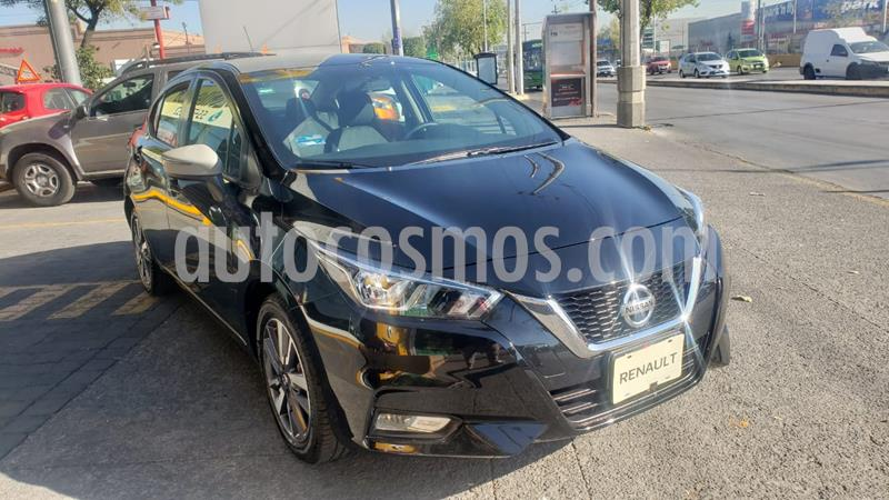 Nissan Versa Advance usado (2020) color Negro precio $255,000
