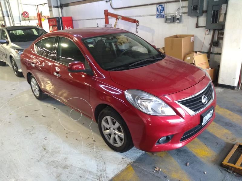 Nissan Versa Advance Aut  usado (2014) color Rojo precio $118,000