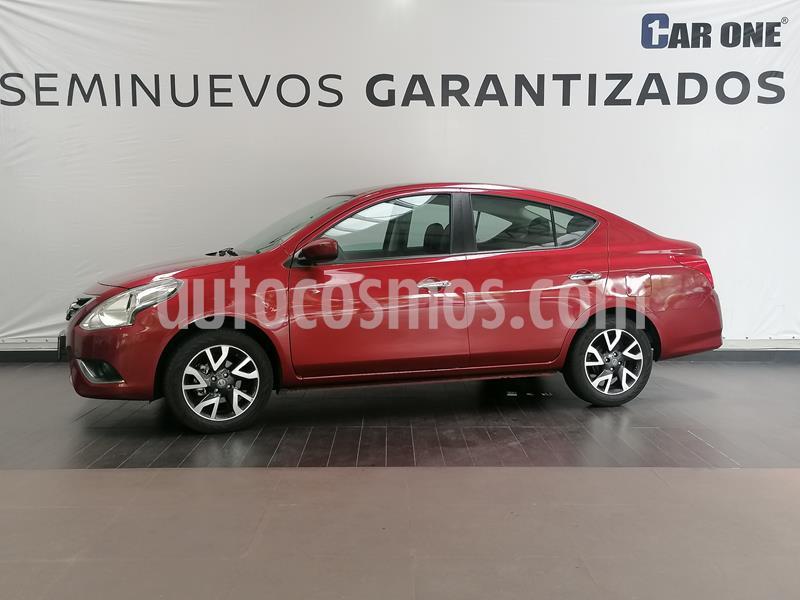 Nissan Versa Advance Aut usado (2019) color Rojo precio $219,900