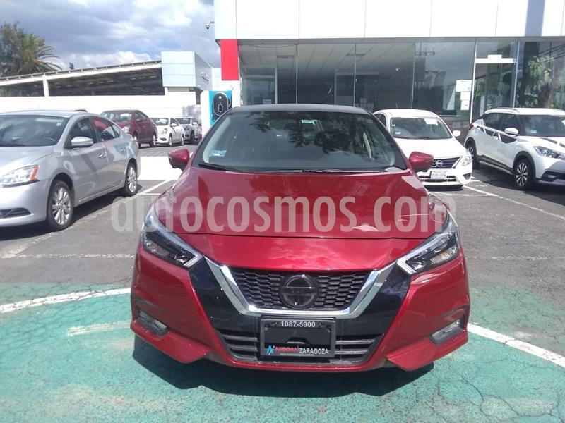 Nissan Versa Platinum Aut usado (2020) color Rojo precio $294,000