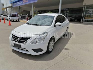 Nissan Versa Sense Aut usado (2018) color Blanco precio $175,000