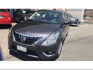 Nissan Versa Advance Aut usado (2019) color Gris Oscuro precio $225,000