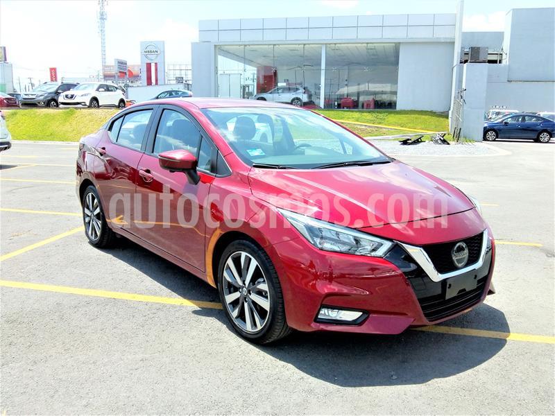 Nissan Versa Platinum Aut usado (2020) color Rojo precio $314,000