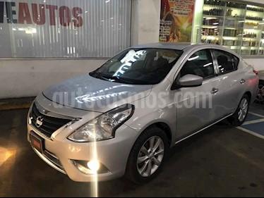 Nissan Versa Advance Aut usado (2015) color Plata precio $138,000
