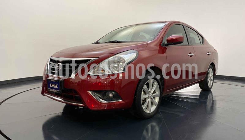 Nissan Versa Advance usado (2018) color Rojo precio $192,999