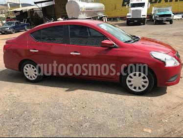Nissan Versa Sense Aut usado (2015) color Rojo precio $130,000
