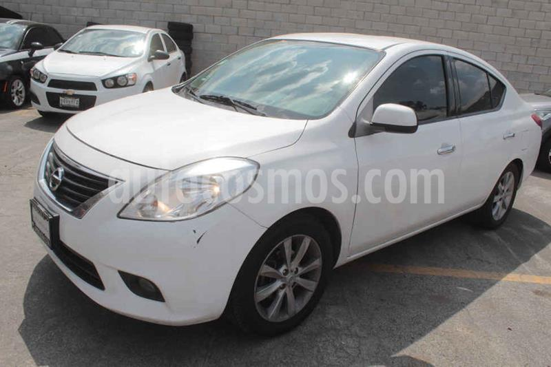 Nissan Versa Exclusive Aut usado (2014) color Blanco precio $142,000