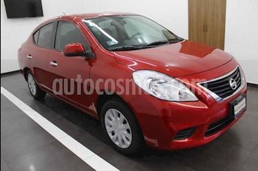 Foto Nissan Versa Sense usado (2014) color Rojo precio $110,000