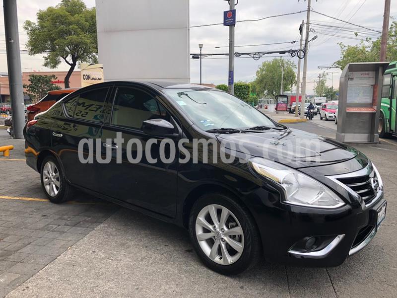 Nissan Versa Advance Aut usado (2018) color Negro precio $185,000