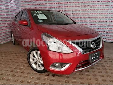 Nissan Versa Advance Aut usado (2017) color Rojo precio $175,000