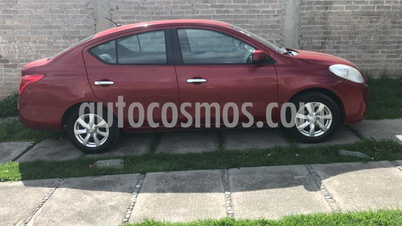 Nissan Versa Advance usado (2012) color Rojo precio $85,000