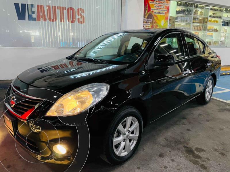 Foto Nissan Versa Advance Aut usado (2014) color Negro precio $139,000