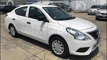 Nissan Versa Drive usado (2018) color Blanco precio $130,500