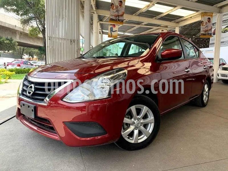 Nissan Versa Advance Aut usado (2019) color Rojo precio $179,000