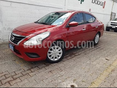 Nissan Versa 4P SENSE L4/1.6 MAN usado (2015) color Rojo precio $139,000