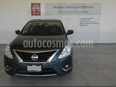 Nissan Versa 4P ADVANCE L4/1.6 MAN usado (2017) color Azul precio $189,000
