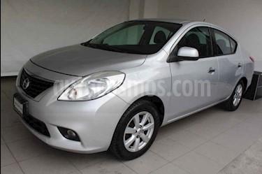 Nissan Versa Advance Aut usado (2014) color Plata precio $139,000