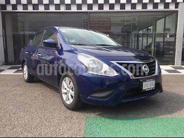 Nissan Versa Sense usado (2019) color Azul precio $180,000