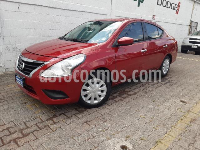 Foto Nissan Versa Sense usado (2015) color Rojo precio $143,000