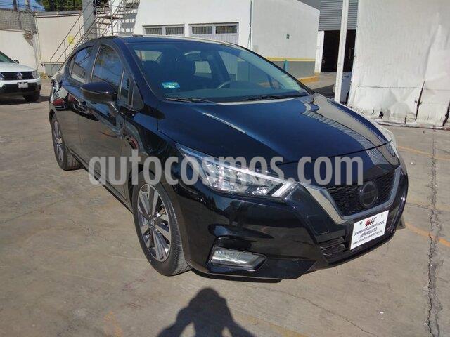 Nissan Versa Platinum Aut usado (2020) color Negro precio $280,000