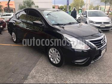 Nissan Versa Sense Aut usado (2018) color Negro precio $179,000