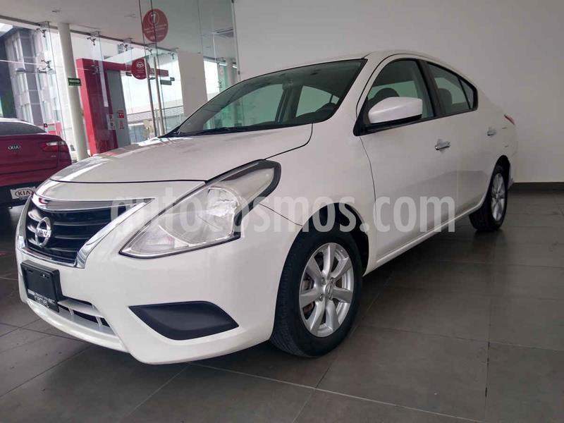 Nissan Versa Sense Aut usado (2019) color Blanco precio $194,000