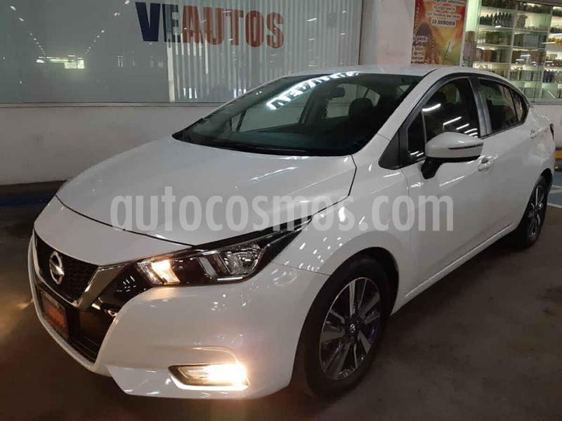 Nissan Versa Advance Aut usado (2020) color Blanco precio $262,000