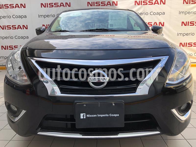 Nissan Versa Exclusive Aut  usado (2016) color Negro precio $179,000