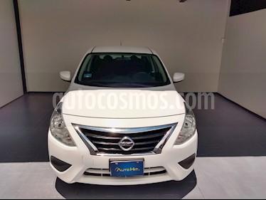 Nissan Versa Sense Aut usado (2018) color Blanco precio $168,500