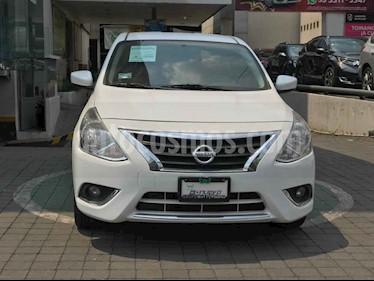 Nissan Versa 4p Advance L4/1.6 Man usado (2018) color Blanco precio $189,000