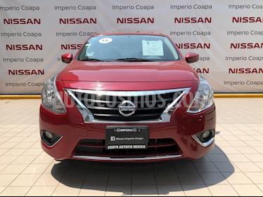 Nissan Versa Exclusive NAVI Aut usado (2015) color Rojo precio $159,000