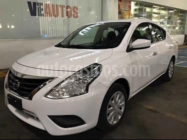 Nissan Versa Sense Aut usado (2017) color Blanco precio $158,000