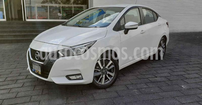 Nissan Versa Advance Aut usado (2020) color Blanco precio $256,900