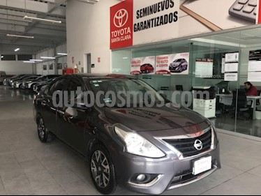 Nissan Versa 4P EXCLUSIVE TA A/AC. VE PIEL GPS F. NIEBLA RA-15 usado (2016) precio $170,000