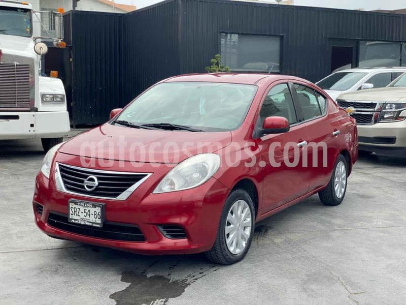 Nissan Versa Sense usado (2014) color Rojo precio $109,800
