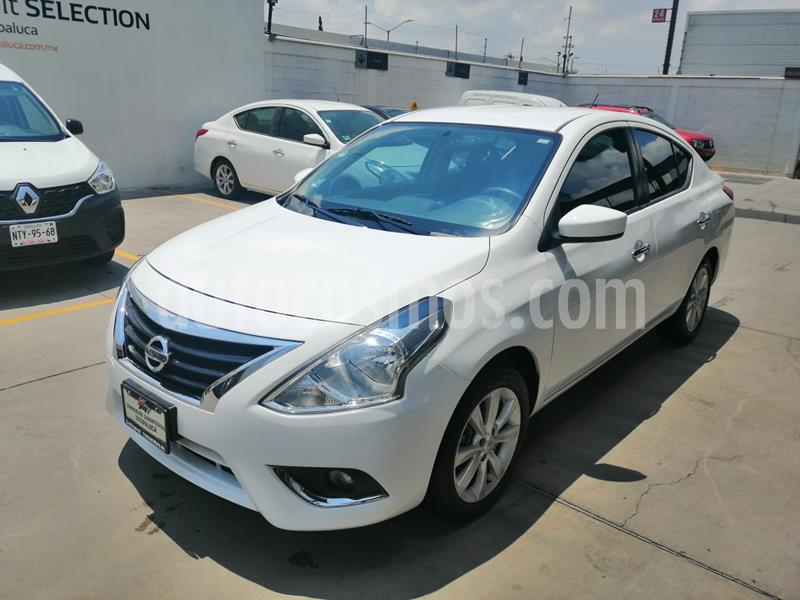 Foto Nissan Versa Advance Aut usado (2018) color Blanco precio $190,000