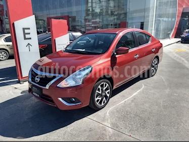 Nissan Versa Advance usado (2019) color Rojo precio $228,900