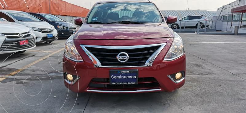 Nissan Versa Advance usado (2018) color Rojo precio $179,000