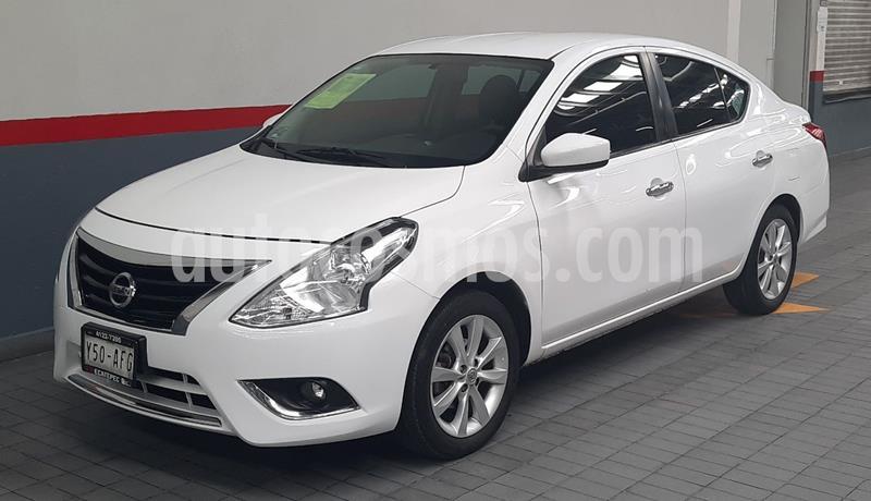 Nissan Versa Advance usado (2016) color Blanco precio $148,000
